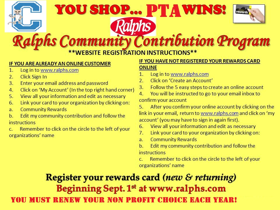 Image result for ralphs community contribution program logo